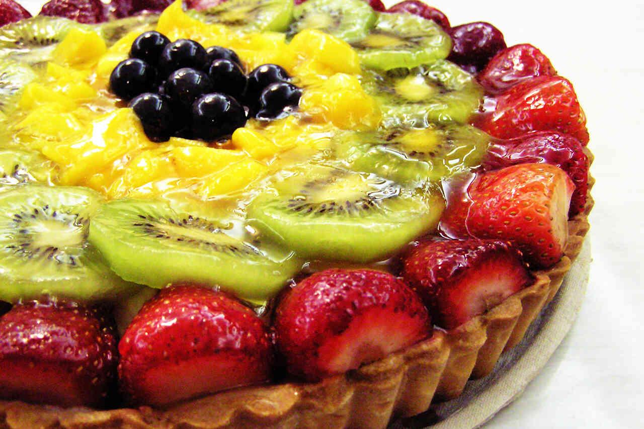 Tartă cu fructe de pădure