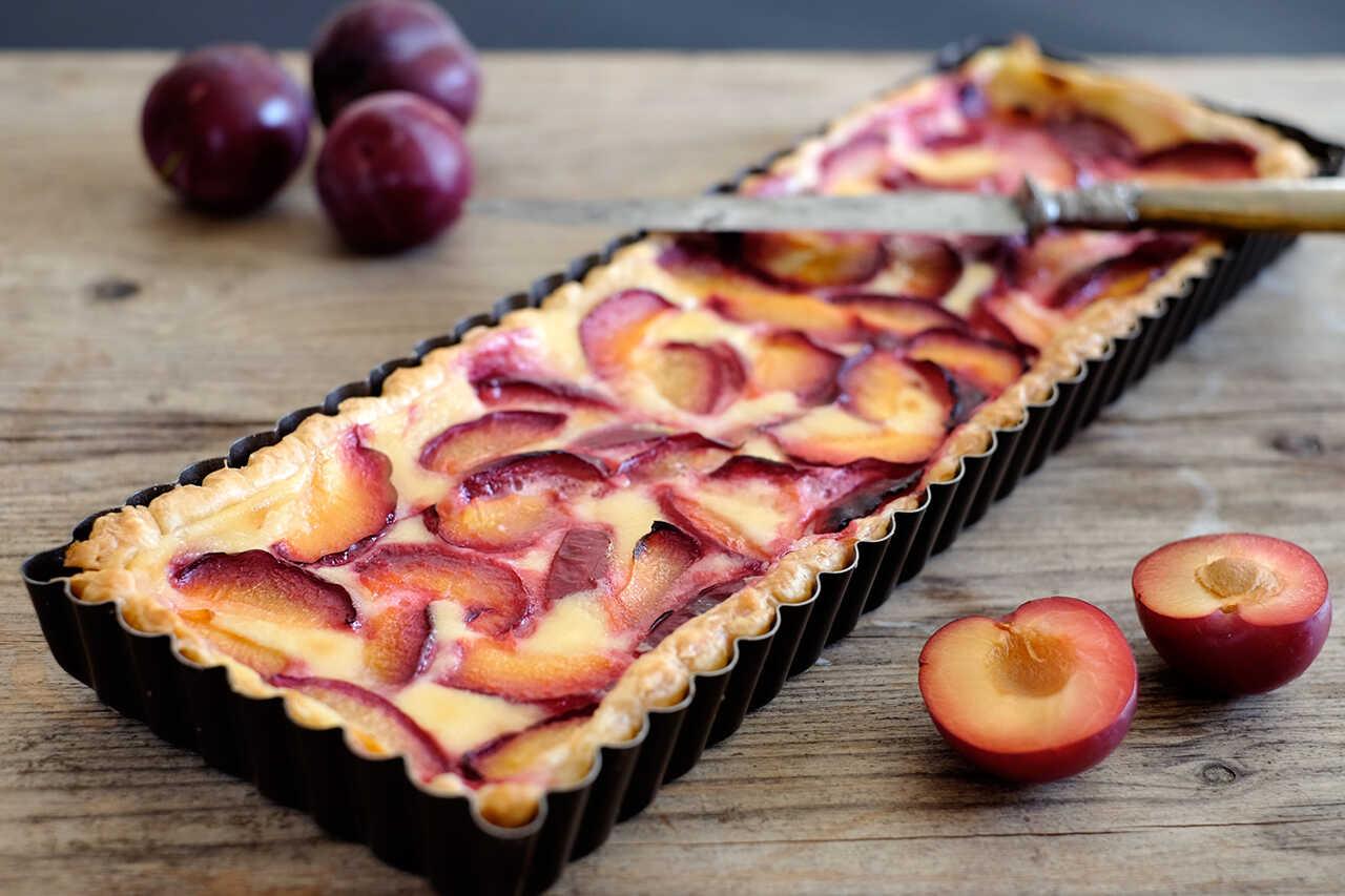 Tartă cu prune